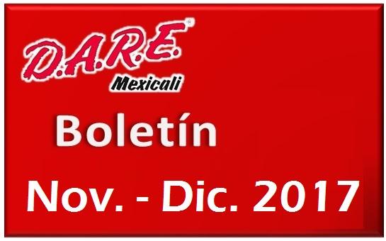 📰 Boletín DAREMexicali Nov. – Dic. 2017